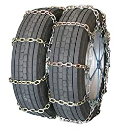 Quality Chain Road Blazer Square Alloy Cam 7mm Link Tire Chains (Dual/Triple) (4114HDQC)
