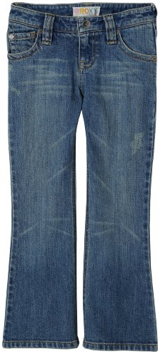 "Roxy Little Girls' Teenie Wahine - ""Delancey Deluxe"" Flare Denim Pant"