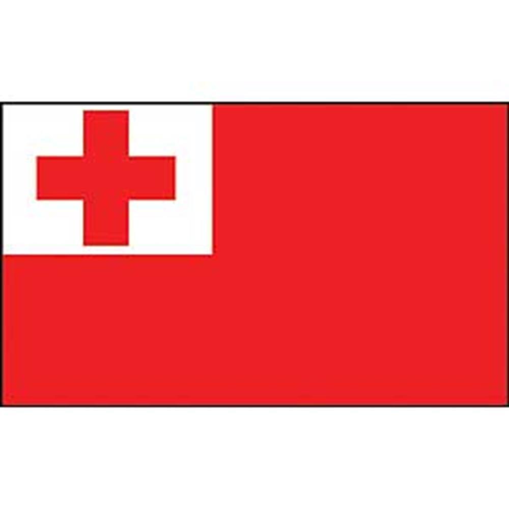 12in x 18in EagleEmblems F8257 Flag-Tonga