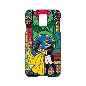 3D Case Cover Beauty And Beast Cartoon Anime Phone Case for Samsung Galaxy s 5