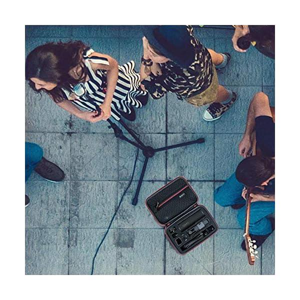 Smatree Custodia Rigida Compatibile con DJI Osmo Pocket 2 / DJI Osmo Pocket Camera, custodia portatile per modulo wireless, rotella controller, custodia di ricarica e altri accessori 7 spesavip