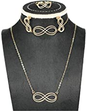 Pure Gold 18K Infinity Set