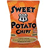 Route 11 Sweet Potato Chips, SEASONAL, organic sweet potatoes kettle cooked in small batches, non-GMO, paleo friendly snacks (30 bags (1.5 oz each))