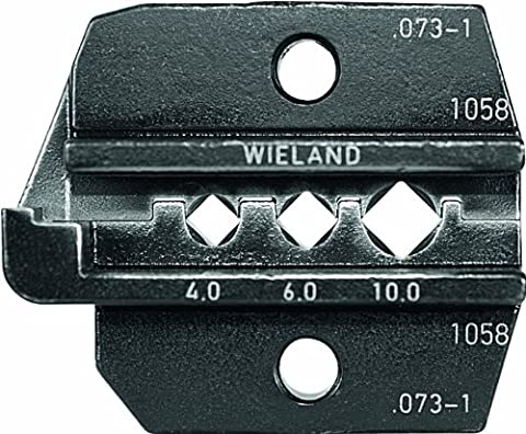 The Original Rennsteig Die Set for Crimping of 12/10/8 AWG Wieland PST40i (gesis®) contacts (for Rennsteig Crimp System Tool P/N 624 000 - 624 Systems