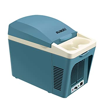 SUAOKI Neveras de Viaje, Congelador Portátil, Refrigerador & Calentador para Fiesta al Aire Libre