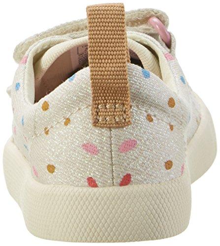 Clarks Halcy Hati Fst, Botines de Senderismo para Bebés Beige (Cotton Combi)