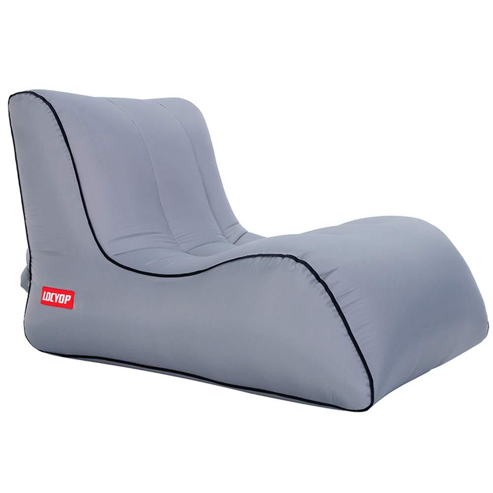 SINBROL Aufblasbares Air Sofa Luftmöbel Liege Strand Sitzsack Tragbares  Aufblasbar Reise Couch Aufblasbare Luftsofa Aufblasbarer FüR