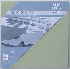 Sobre cuadrado Artoz Classic 1001160x 160mm 5unidades tilo