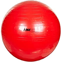 Sportime Therapy and Exercise Ball - 29 1/2 inch - Red