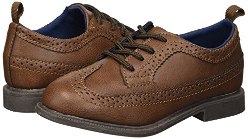 Pictures of carter's Boys' Oxford5 Dress Shoe Oxford, Brown, 7 M US Toddler 4