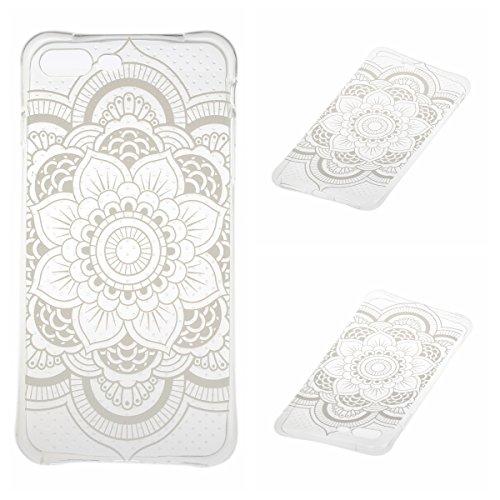 Voguecase® für Apple iPhone 7 4.7 hülle, Schutzhülle / Case / Cover / Hülle / TPU Gel Skin (Durchstochen-Lace Teppich) + Gratis Universal Eingabestift