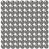 100 1/8 inch Diameter Chrome Steel Bearing Balls G25 Ball Bearings VXB Brand
