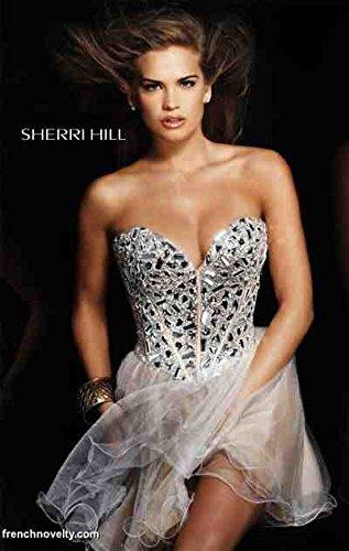 Sherri Hill Beaded Corset Short Prom Party Dress