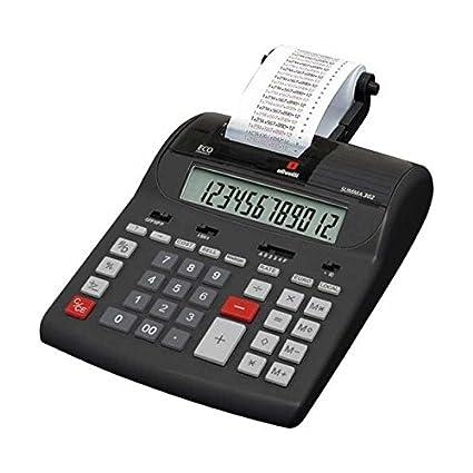 amazon com olivetti 221729 table calculator summa 302 office