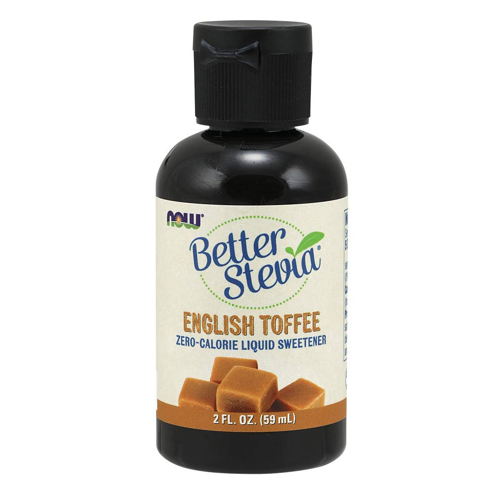 NOW  Foods Liquid Stevia, English Toffee, 2-Ounce