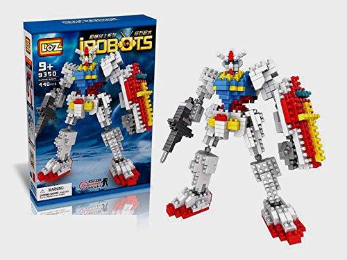 New LOZ Diamond Block I Robots Gundam D Series 17cm 440pcs #9350 Parent-child Games Building Blocks Nanoblock Lego Figure