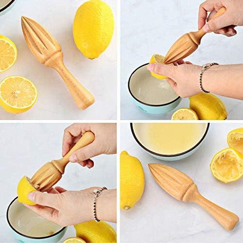 Exprimidor de limones de madera