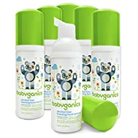 Babyganics Alcohol-Free Foaming Hand Sanitizer, Fragrance Free, On-The-Go, 50...