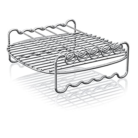 Philips Airfryer Double Layer Rack with Skewers- HD9905/00, For HD9240 models