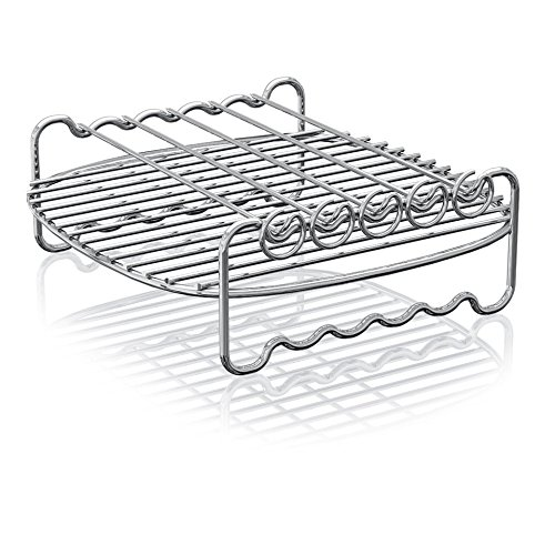 Philips HD9905/00 Airfryer Double Layer Rack Accessory with Skewers, for XL model Airfryers by Philips