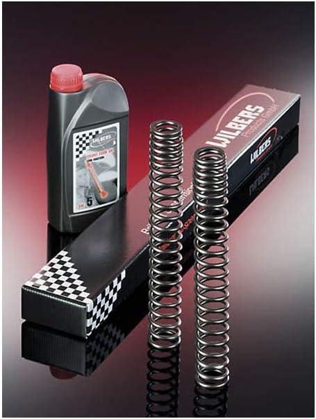 Wilbers 6001-215 Gabelfedern f/ür Yamaha XT 600 E//K 90- Tieferlegung Max Reduzierh/ülsen 50 mm inkl
