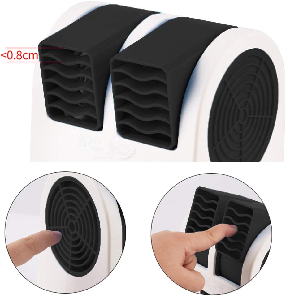 Usb or Battery Powered for Home//Bedroom//Office//Outdoor Blue DYBOHF Air Coolers Portable Personal Space Arctic Air No Noise Mini Air Conditioner 3 in 1 Portable Personal Space Cooling Fans
