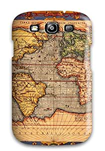 Albert R. McDonough's Shop 6716269K48631854 Durable Protector Case Cover With Map Hot Design For Galaxy S3