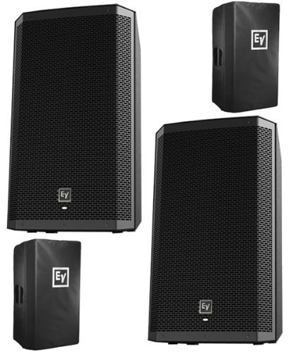EV Electro-Voice ZLX12P Active 2-way PA Speakers w/Covers ZLX-12P PAIR NEW