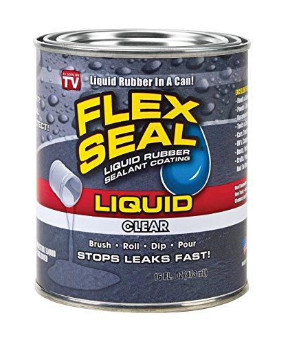 (Flex Seal Liquid Rubber in a Can, 16-oz, Clear)