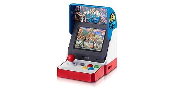 Amazon.com: NEOGEO Mini Console Red, White and Blue USA ...