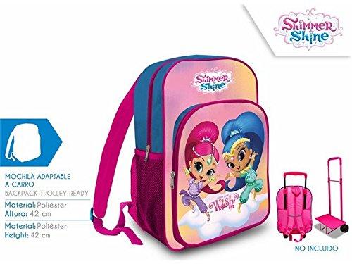 Kids Euroswan - Shimmer & Shine SS17111. Mochila 42cm. Adaptable a carro.: Amazon.es: Juguetes y juegos