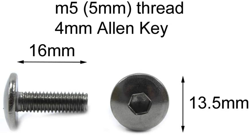 Speedy Fasteners fits Triumph Daytona 675 2006-2012 Complete Stainless Steel Bolt Kit Fairings /& Screen Bolts