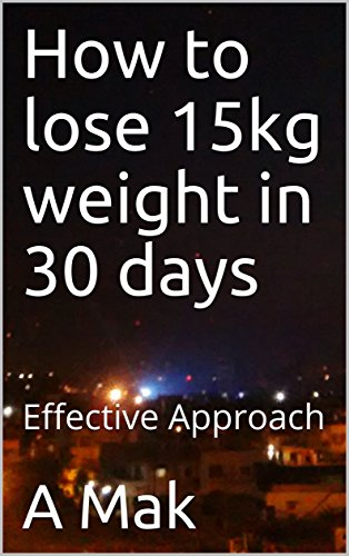 How to lose 15kg weight in 30 days: Effective Approach