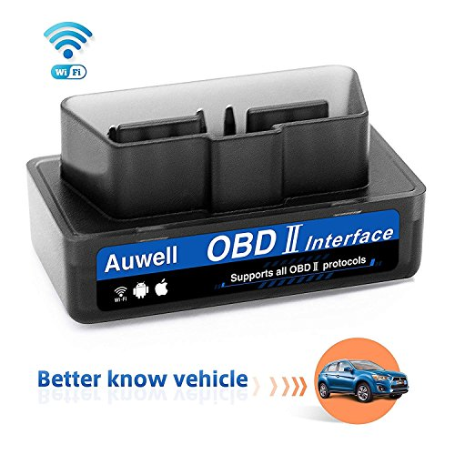 - Auwell WiFi OBD2 Scanner, Car Code Reader Scan Tool for Car Automotive Check Engine Diagnostic Tool OBD2 Scanner Adapter for iOS & Android Support All OBDII Protocols