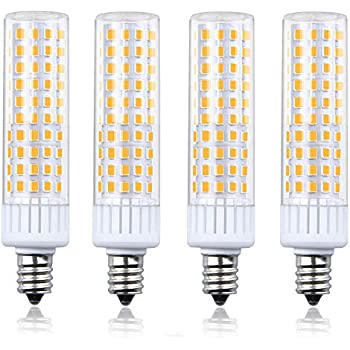 Luxvista Dimmable Led E12 Light Bulbs Daylight Candle Base