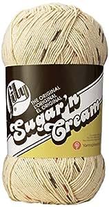 Lily Sugar 'N Cream Big Ball Ombre Yarn, 12 Ounce, Sonoma Print, Single Ball