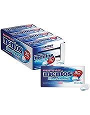 Mentos Clean Breath Mints, Peppermint, 12 Tins, 12 x 35 g, Peppermint