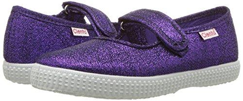 Cienta 56013 Glitter Mary Jane Fashion Sneaker,Purple,27 EU (9.5 M US Toddler) by Cienta (Image #6)