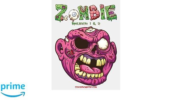 Zombie Malbuch 1 & 2: Nick Snels: 9781533418784: Books - Amazon.ca