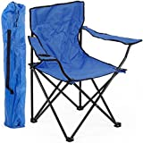Shopaholic Portable Folding Camping Chair (Multicolor)