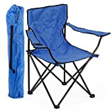 divinezone Folding Camping Portable Chair (Color May Vary)