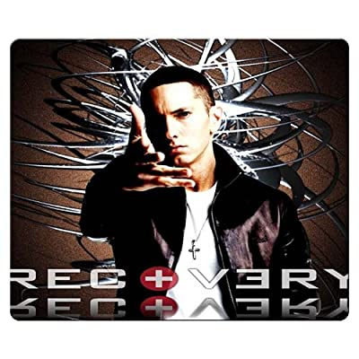 26x21cm 10x8inch Mouse Mat smooth cloth natural rubber Nonslip durability Eminem