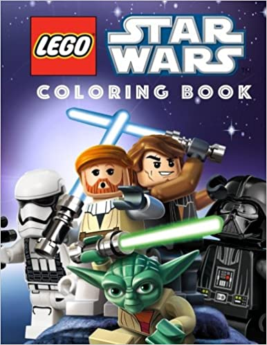 LEGO STAR WARS Coloring Book: Great Coloring Book for Any Fan of ...