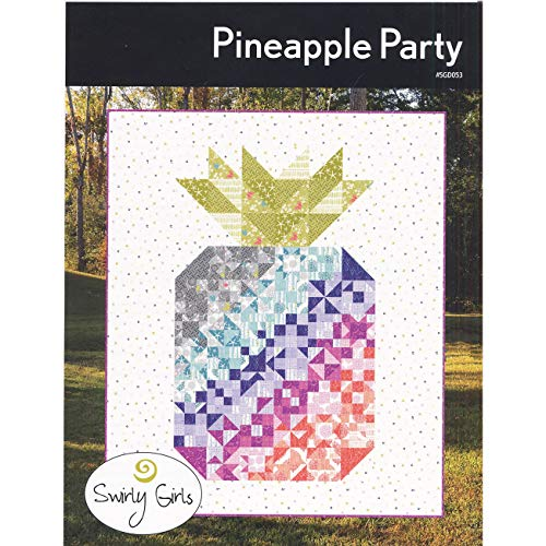 Swirly Girls Design SGD053 Pineapple Party Pattern None for $<!--$18.99-->