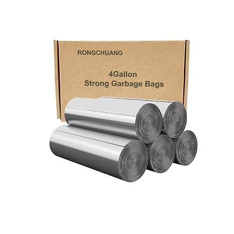 Amazon.com: Bolsas de basura, 5 galones, tamaño mediano, 100 ...