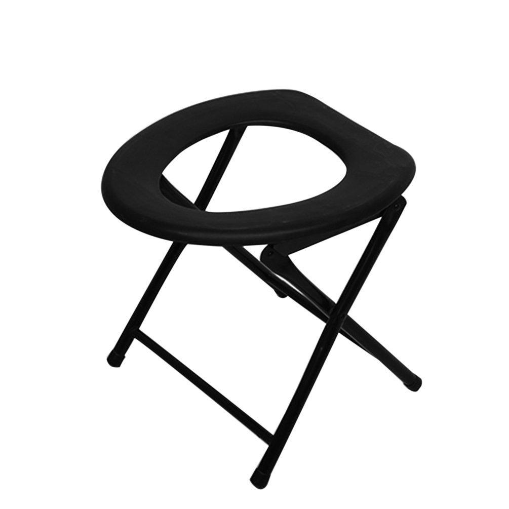 Gugutogo Tragbarer verst/ärkter Toilettenstuhl zum Angeln und f/ür Aktivit/äten im Freien