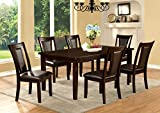 Furniture of America Simone 7-Piece Contemporary Dining Set Review