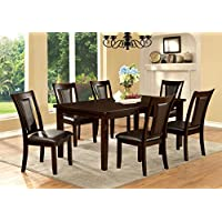 Furniture of America Simone 7-Piece Contemporary Dining Set
