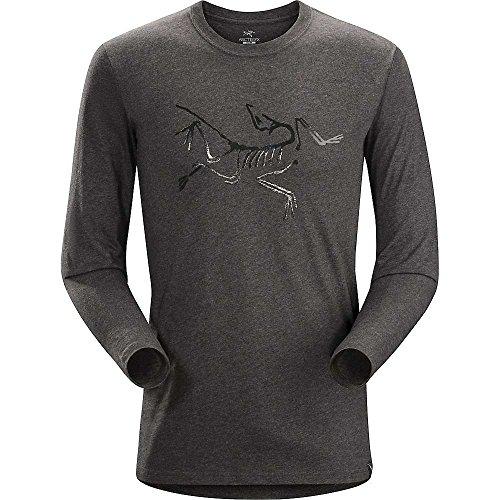 Arcteryx Men's Archaeopteryx LS T-Shirt - Medium, Heathered Dk Grey