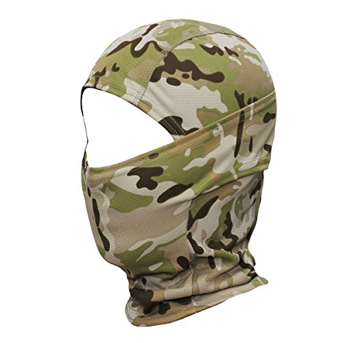 Outdoor Camping Hiking Quick-drying Tactical Army Paintball Training Hunting Airsoft Full Face Balaclava Mask Back To Search Resultshome